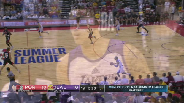 WSC: Highlights: Kyle Kuzma (30 points) vs. the Trail Blazers, 7/17/2017