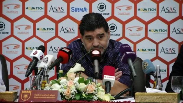 """Maradona: """"Estaba cansado de ver fútbol por televisión"""""""