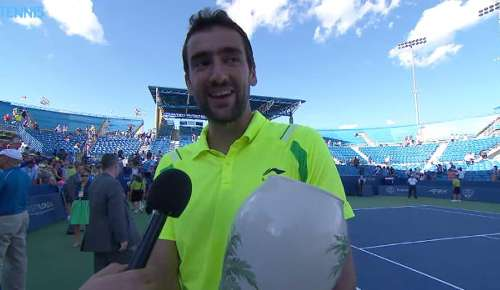 Cilic Interview: ATP Cincinnati Final