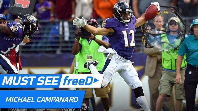 freeD: Go inside Michael Campanaro's helmet as he finds an open gap on punt return | Week 6