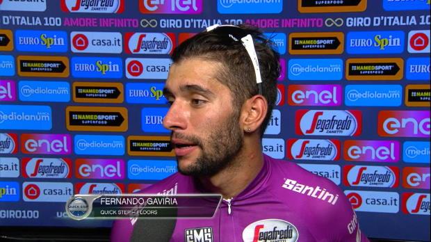 "Gaviria (Quick Step), tras volver a ganar: ""He llegado con mejores piernas que Greipel"""