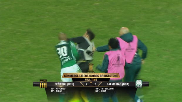 Copa Libertadores: Faustschläge nach Abpfiff