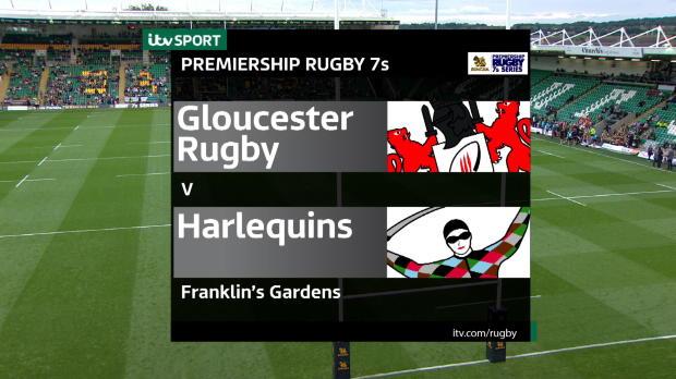 Aviva Premiership - Match Highlights - Gloucester Rugby 7s v Harlequins 7s