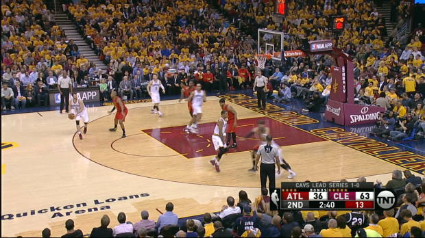 Move of the Night: J.R Smith