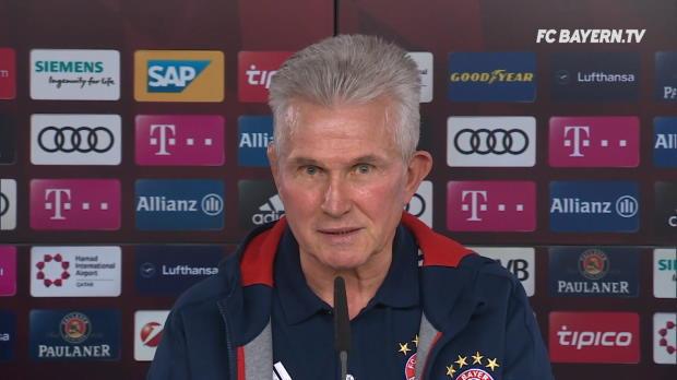 """Heynckes: """"Viel Freude an Robben und Ribery"""""""
