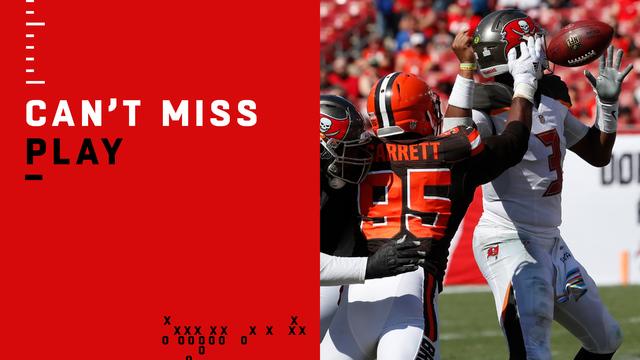 Can't-Miss Play: Garrett strip-sacks Winston for key turnover