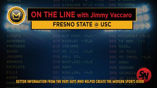 Jimmy V on Fresno State @ USC