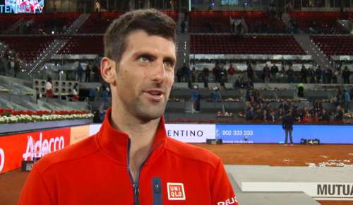 Djokovic Interview: ATP Madrid Final