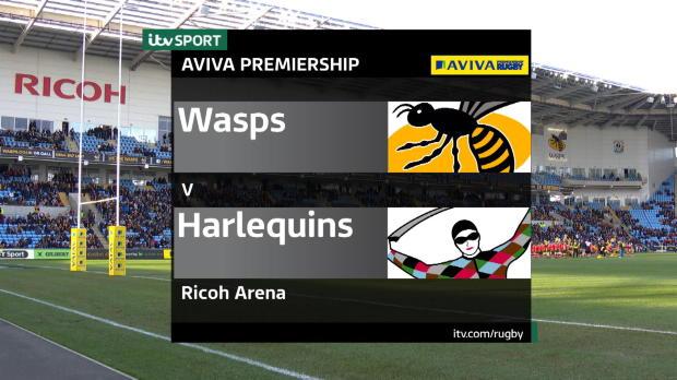 Aviva Premiership - Wasps v Quins
