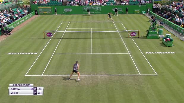 Basket : TENNIS - WTA - Nottingham - Premier titre de la saison pour Garcia !