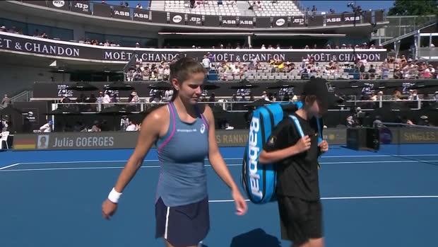WTA Auckland: Kuzmova - Görges   DAZN Highlights
