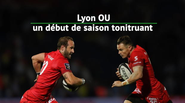 Top 14 - Top 14 : Lyon, un début de saison tonitruant