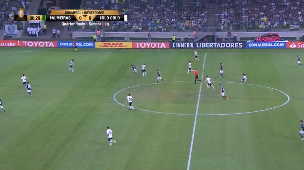 Copa Libertadores: Palmeiras Dudu mit Traumtor
