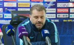 Caltex Socceroos boss Ange Postecoglou says his side won't change their positive approach against Iraq