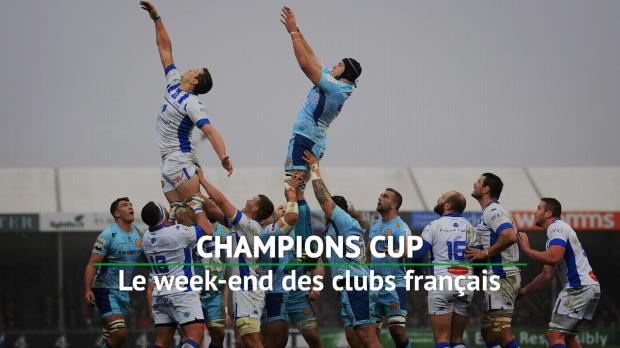 Rugby : 5e j. - Retour sur le week-end des clubs français