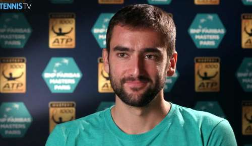 Cilic Interview: ATP Paris 3R