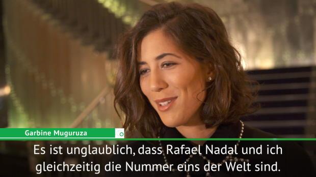 """Muguruza und Nadal ganz vorne: """"Unglaublich!"""""""