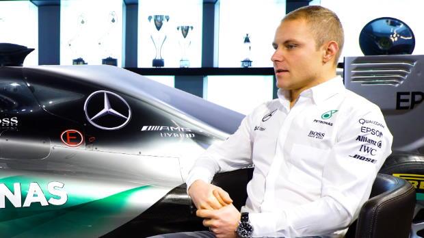 """F1 - Las primeras palabras de Bottas en Mercedes: """"Estoy hambriento de victorias"""""""