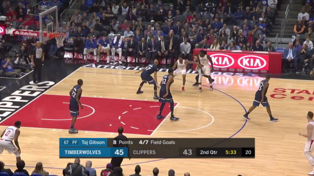 WSC: Blake Griffin Posts 32 points, 12 assists & 12 rebounds vs. Minnesota Timberwolves