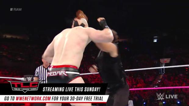 Seth Rollins & Dean Ambrose vs. Cesaro & Sheamus - Raw Tag Team Championship Match: Raw, Oct. 16, 2017