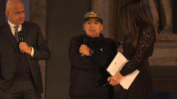 """Maradona: Neapel? """"Werden zusammen arbeiten!"""""""