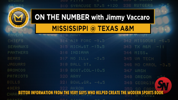 Jimmy V on Mississippi @ Texas A&M