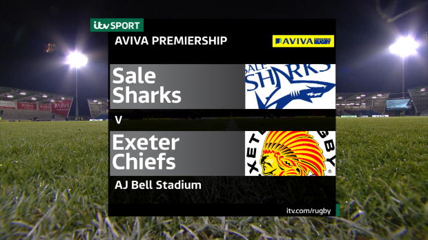 Aviva Premiership - Sale Sharks v Exeter Chiefs