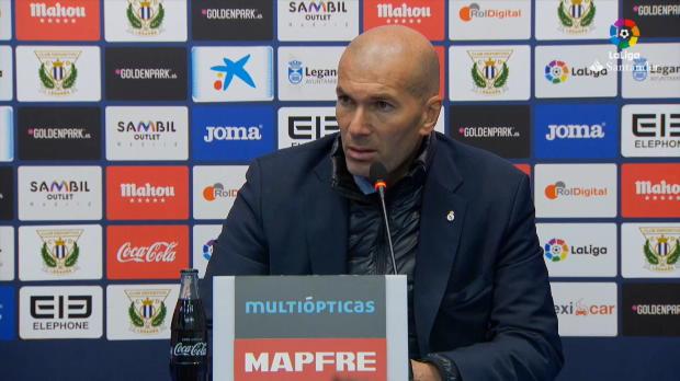 """Zidane: """"Wollen in der Tabelle weiter klettern"""""""