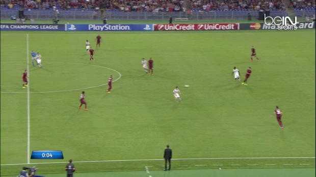 LdC : AS Rome 5-1 CSKA Moscou