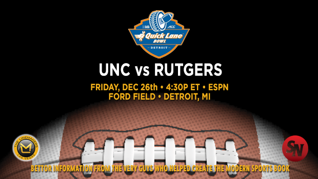 Rutgers Scarlet Knights @ North Carolina Tar Heels