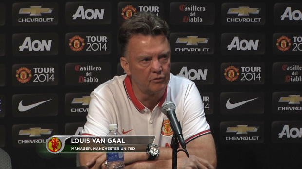Foot : P.League - Man Utd, Van Gaal content de son équipe
