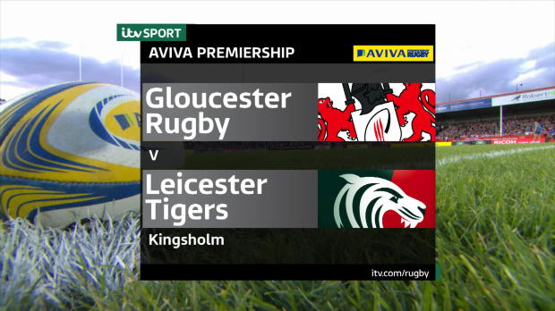Aviva Premiership - Match Highlights - Gloucester Rugby v Leicester Tigers