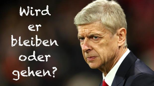 Geht Wenger oder bleibt er bei Arsenal?
