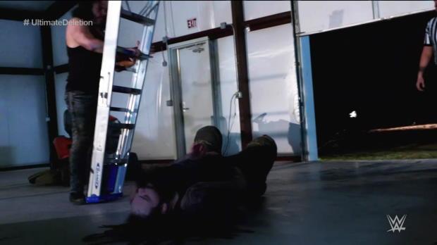 """Woken"" Matt Hardy brutalizes Bray Wyatt inside The Dome of Deletion - The Ultimate Deletion: Raw, March 19, 2018"