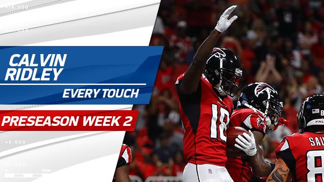 Every Calvin Ridley touch | Preseason Week 2
