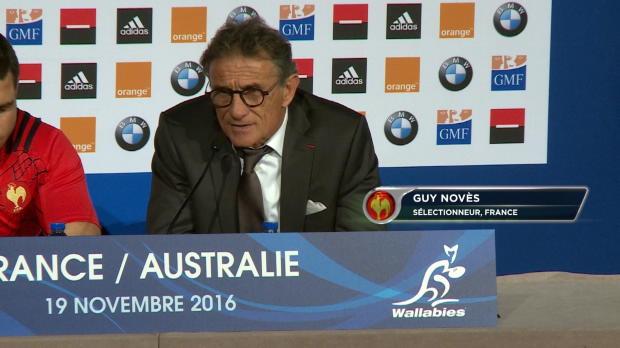 XV de France - Novès - 'Avec un minimum de réussite, on aurait pu gagner'