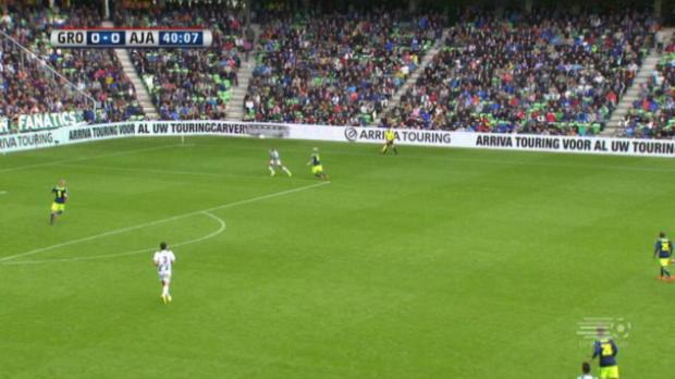 La formation de Franck De Boer s'est inclinée pour la deuxième fois de rang, cette fois contre Groningen. Tour d'horizon des principaux matchs d'Eredivisie du weekend.