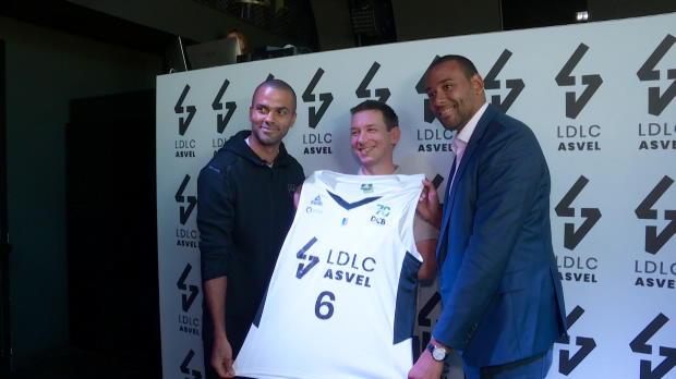 Basket : ASVEL - Tony Parker signe le plus gros contrat du basket français avec LDLC
