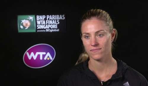 Kerber Interview: WTA Singapore SF