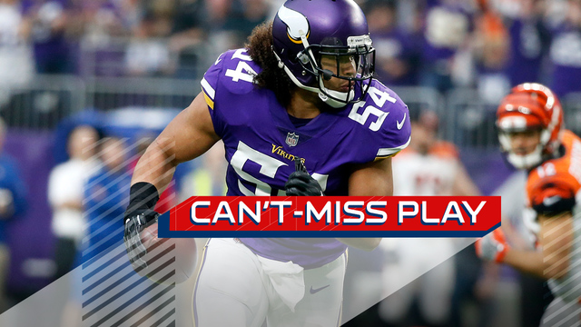 Can't-Miss Play: Minnesota Vikings linebacker Eric Kendricks takes first interception of year to the house