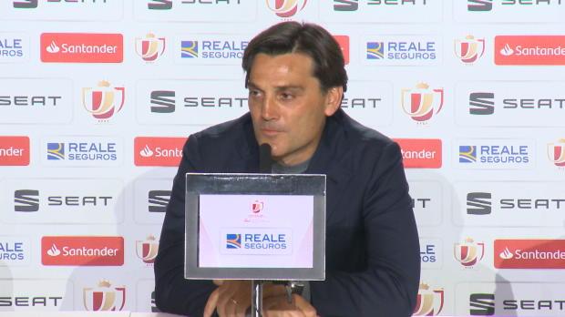 Copa del Rey: Montella: Messi außerirdisch
