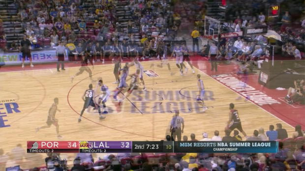 WSC: Highlights: Jake Layman (21 points) vs. the Lakers, 7/17/2017