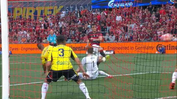 A-League: 85. Minute! Wanderers-Serie hält