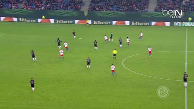 C. d'Allemagne : Hambourg 1-3 Bayern