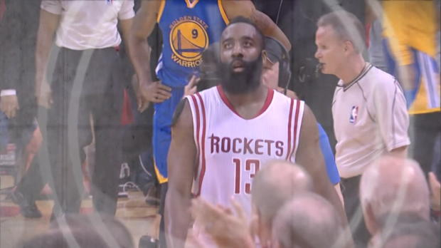 Basket : NBA - Play-offs - Harden sauve les Rockets