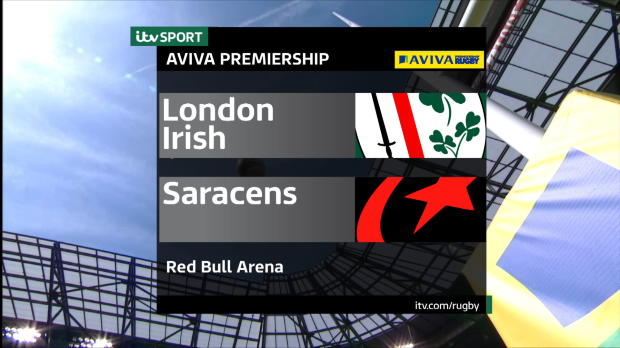 Aviva Premiership - London Irish v Saracens