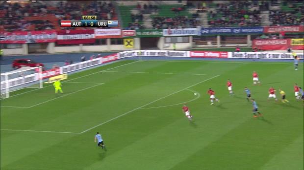 Cavani gegen Österreich mit 40. Länderspiel-Tor