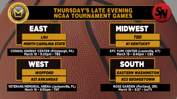 Thursday Evening Late Games