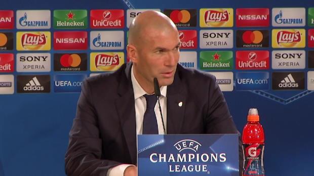 Zidane: Lob für Benzema, aber ...
