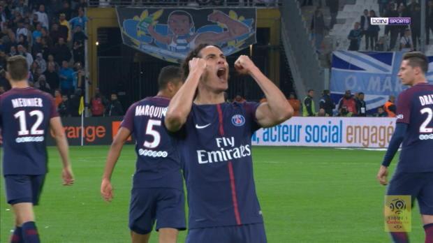 Trotz Unterzahl: Cavani rettet Paris